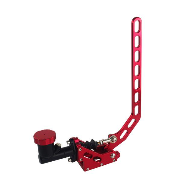 Гидравлический ручник с цилиндром красного цвета