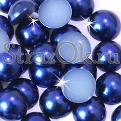 Закажите оптом полубусины Sapphire синие в интернет-магазине StrazOK.ru
