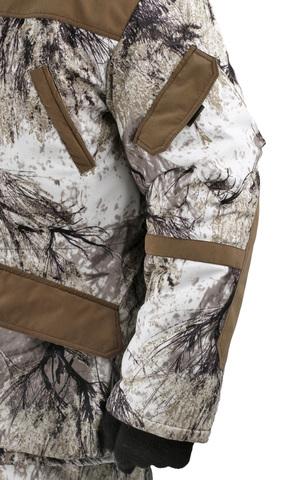 Костюм Горка-Буран зимний (ткань Алова мембрана) Снежный лес