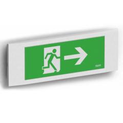Световой указатель направления эвакуации Aestetica LED IP40 Beghelli