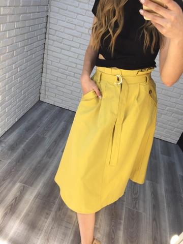 юбка летняя желтая nadya