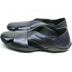 Слипоны сандалии мужские Luciano Bellini 76389 Blue.