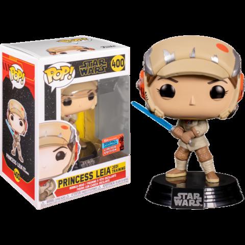 Фигурка Funko Pop! Star Wars: The Last Jedi - Princess Leia Jedi Trainig (Excl. to New York Comic Con 2020)