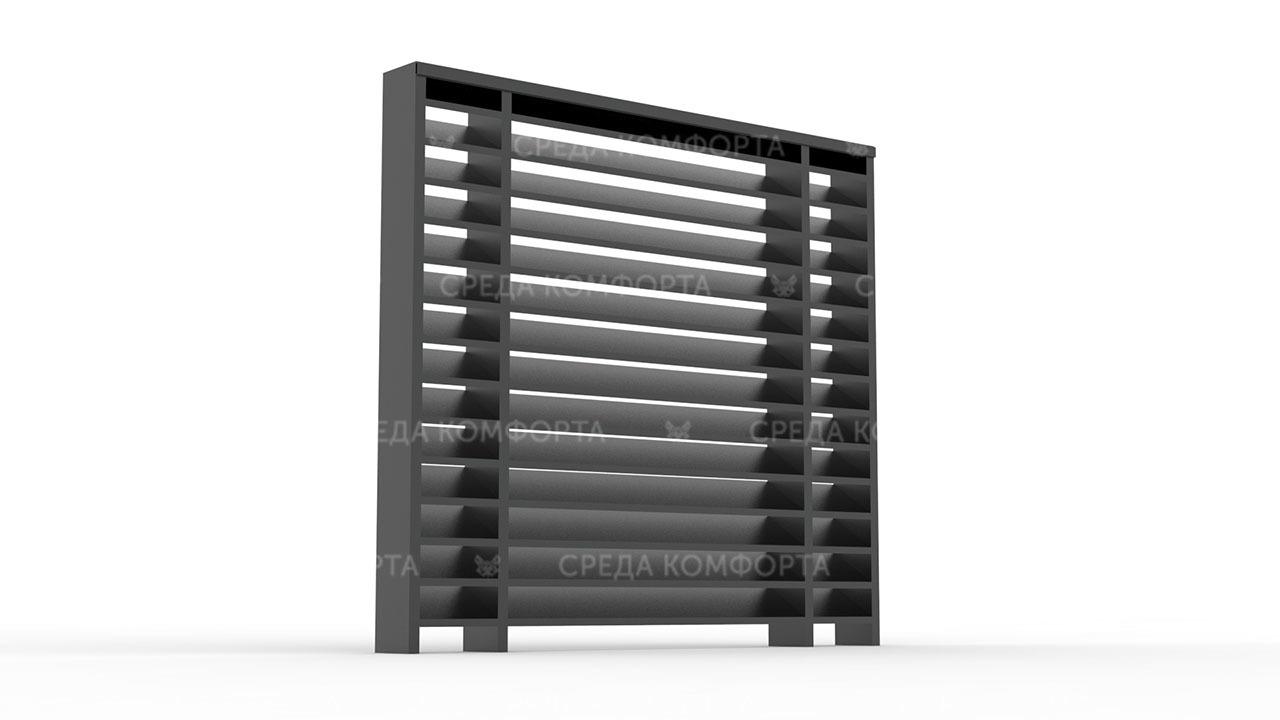 Забор жалюзи ZBR0116