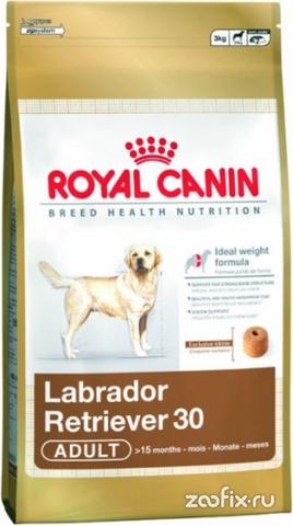 R.С. Лабрадор Ретривер-30 д/собак старше 15 месяцев 12кг