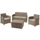 Комплект уличной мебели Allibert  Corona Set