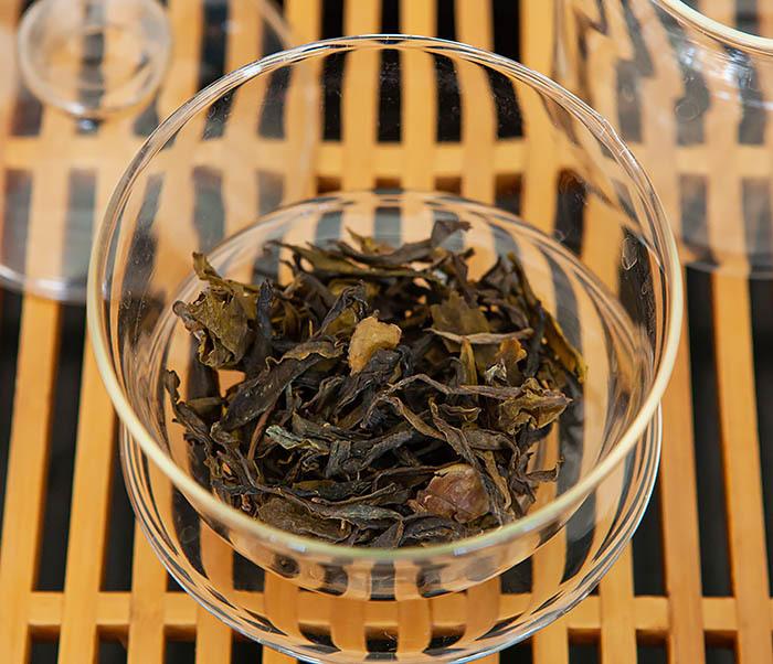 TEA-CH131 Шен Пуэр «Дикий» с горы Лао Цзюнь Шань (Юньнань, 50 гр) фото 07