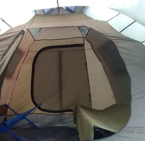 Палатка Canadian Camper GRAND CANYON 4, цвет forest, внутренняя палатка.