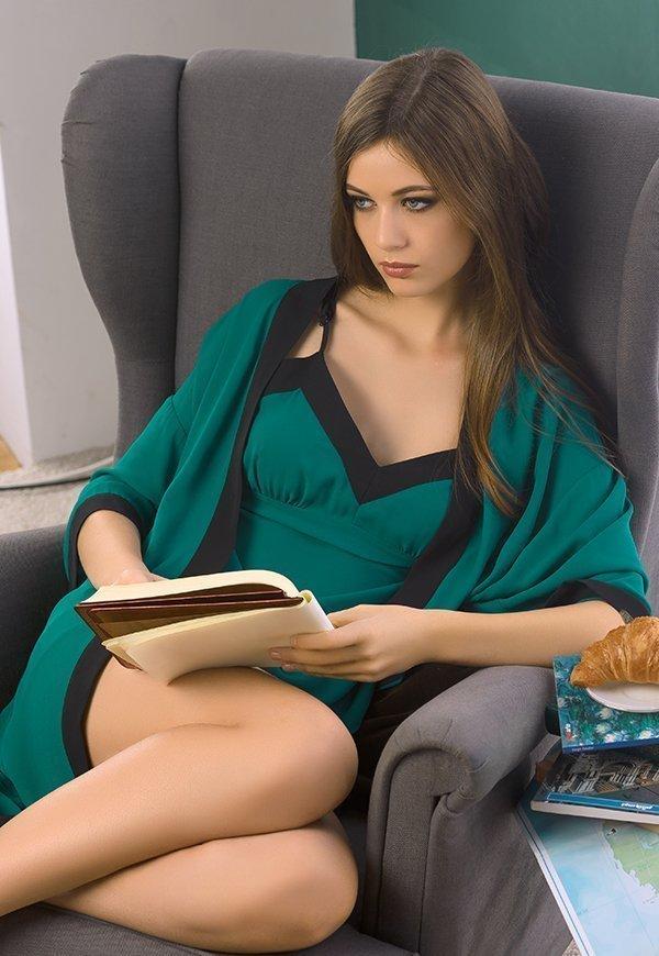 PDN682 ночная сорочка женская