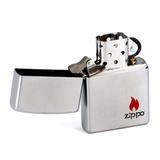 Зажигалка ZIPPO Color Satin Chrome латунь (205 ZIPPO)
