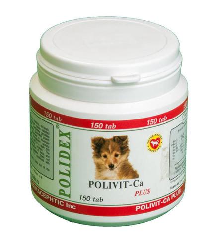 Поливит-Кальций плюс для собак 150 таб.