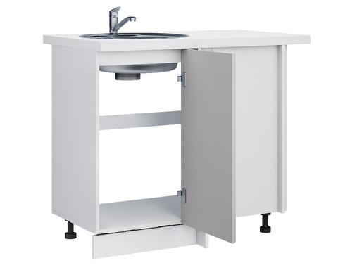 Стол кухонный под мойку угловой  РИВЬЕРА  1000