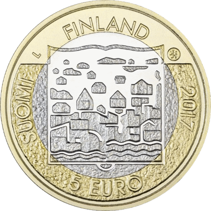 5 евро 2017 год Финляндия