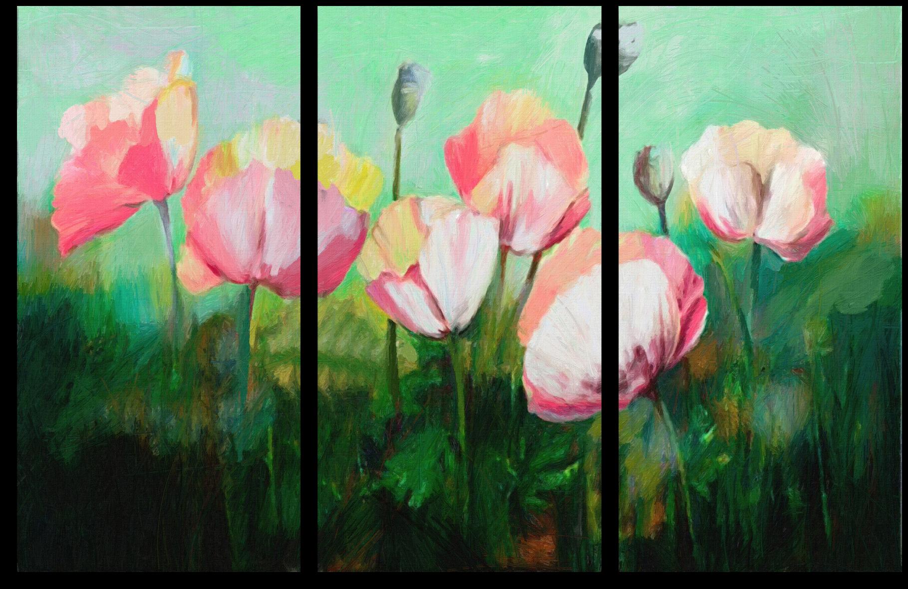 """Цветы Модульная картина """"Майские цветы"""" М201.png"""