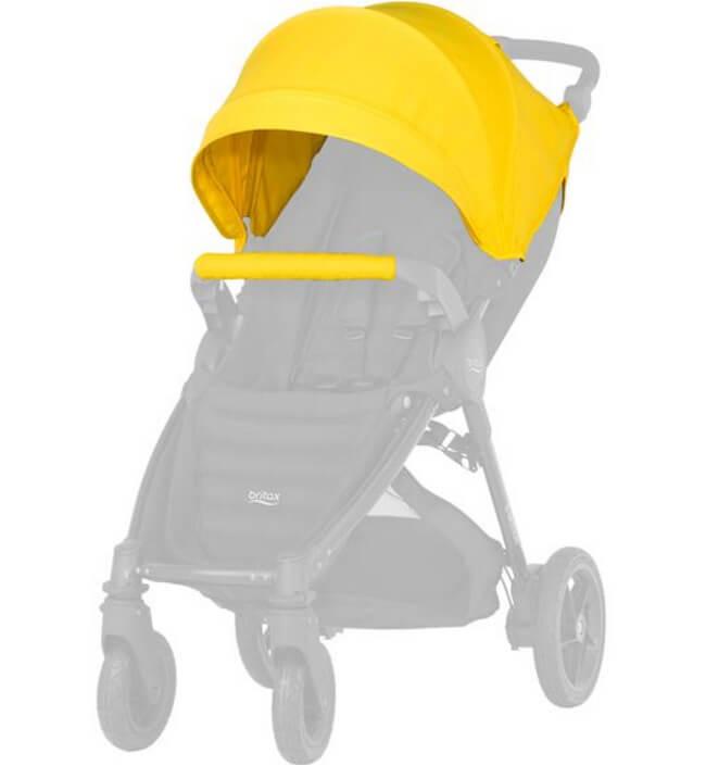 Капор для коляски B-Agile 4 Plus, B-Motion 4 Plus, B-Motion 3 Plus Капор для коляски B-Agile 4 Plus, B-Motion 4 Plus, B-Motion 3 Plus Sunshine Yellow kapor_sunshine-yellow.jpg