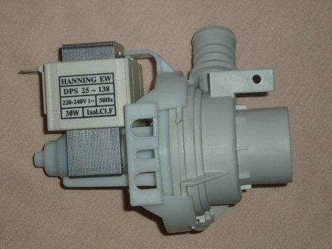 Насос для стиральной машины Beko (Беко), фишка вперед - 9187518023