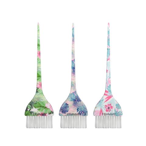 Tropic Vibes Signature Color Brushes | Базовая кисть для окрашивания «Тропические Грезы» 3 шт