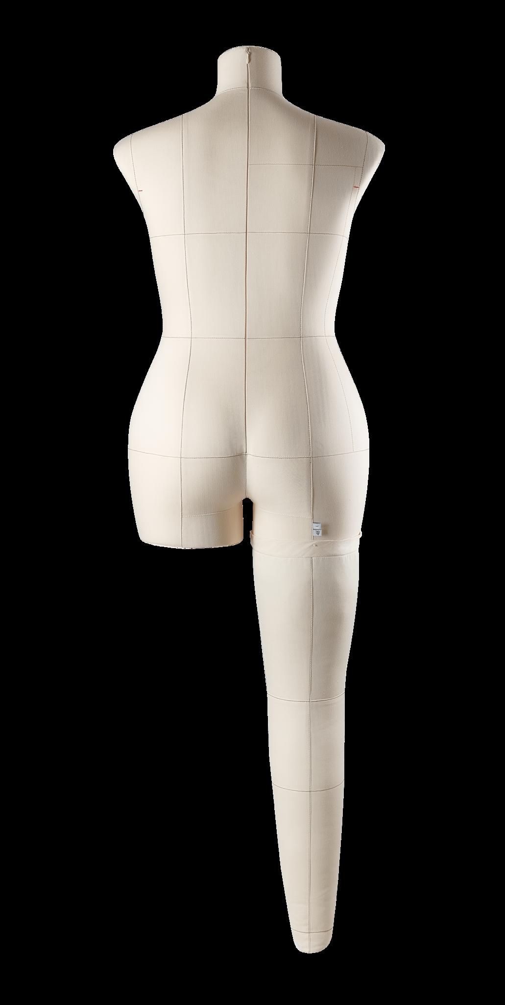 Нога бежевая для манекена Моника, размер 48Фото 2