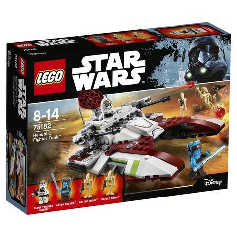 LEGO Star Wars: Боевой танк Республики 75182 — Republic Fighter Tank — Лего Звездные войны Стар Ворз