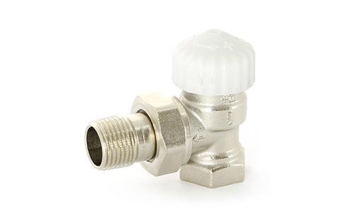 Вентиль термостатический угловой Uni-Fitt Thermo 1/2