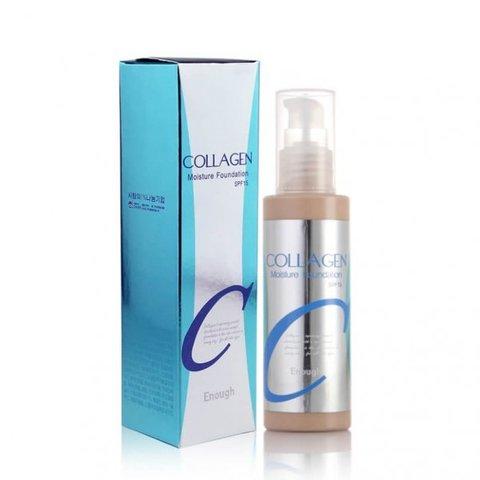 Увлажняющий тональный крем с коллагеном Enough Collagen Moisture Foundation SPF 15,