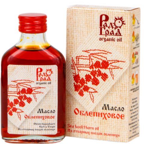Масло облепихи 100мл Радоград