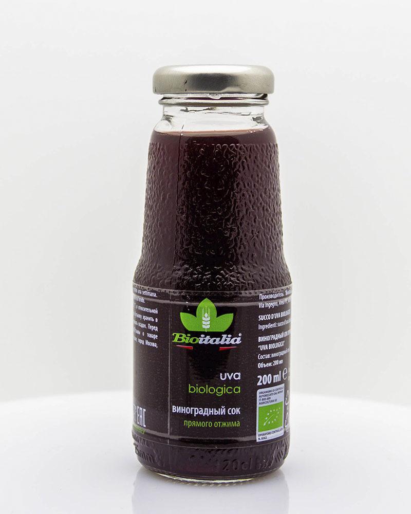 Виноградный сок Bioitalia 200 мл.
