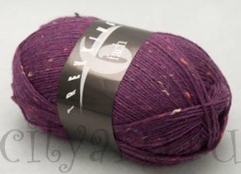1881 / яркий лиловый с разноцветными вкраплениями