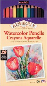 Акварельные карандаши  12 цветов