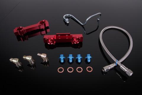 Топливная рейка Subaru Impreza GC8 V3-V4 Side Feed Injector