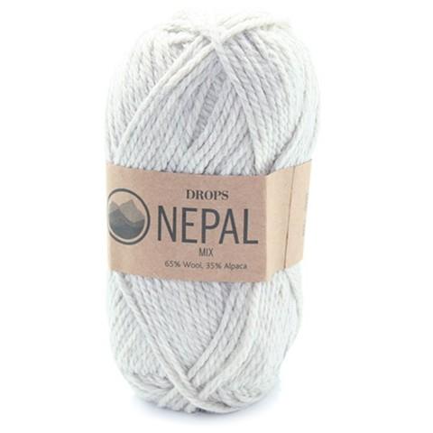 Пряжа Drops Nepal 0500 серый микс