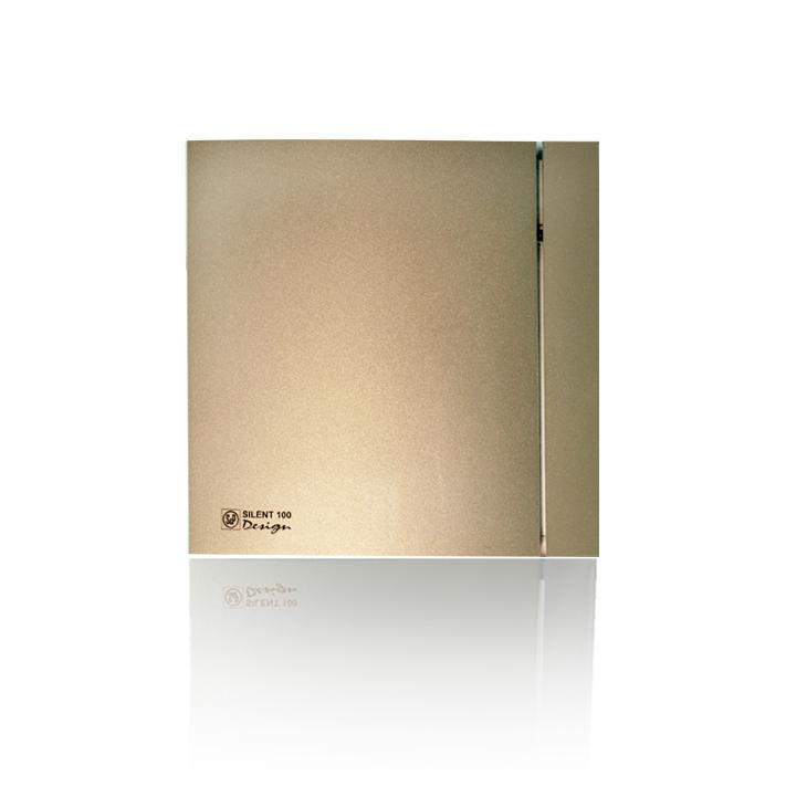 Silent Design series Накладной вентилятор Soler & Palau SILENT 100 CHZ DESIGN CHAMPAGNE (датчик влажности) 003шампань.jpeg