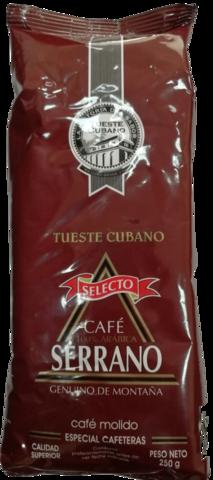 Кофе молотый Serrano Selecto 250 гр