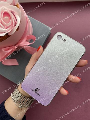 Чехол iPhone 7/8 Swarovski Case /purple/