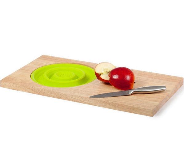 Товары для кухни Разделочная доска с силиконовым дуршлагом 37164606_w640_h640_img0128edit.jpg