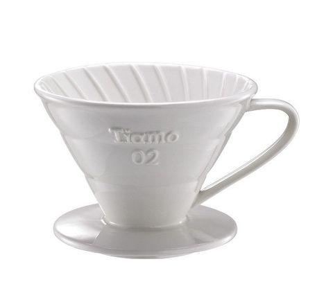 Воронка Tiamo керамическая V02 белая