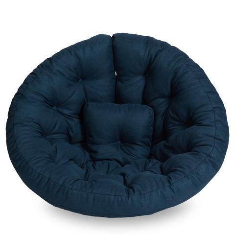 Бескаркасное кресло-футон «Оустер», Черничный