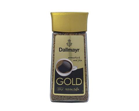 купить Кофе растворимый Dallmayr Gold, 200 г стеклянная банка