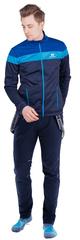 Утеплённый лыжный костюм Nordski Drive Blueberry/Blue 2021 мужской