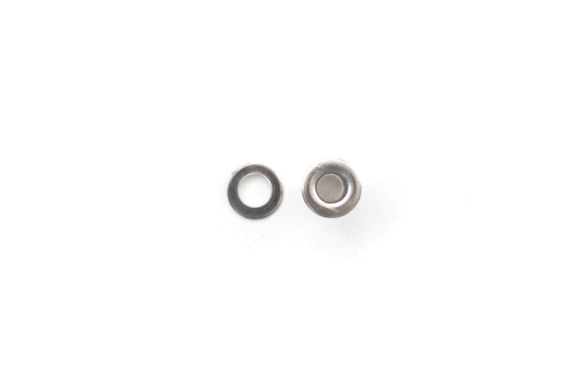 Люверс 7,5 мм - хром