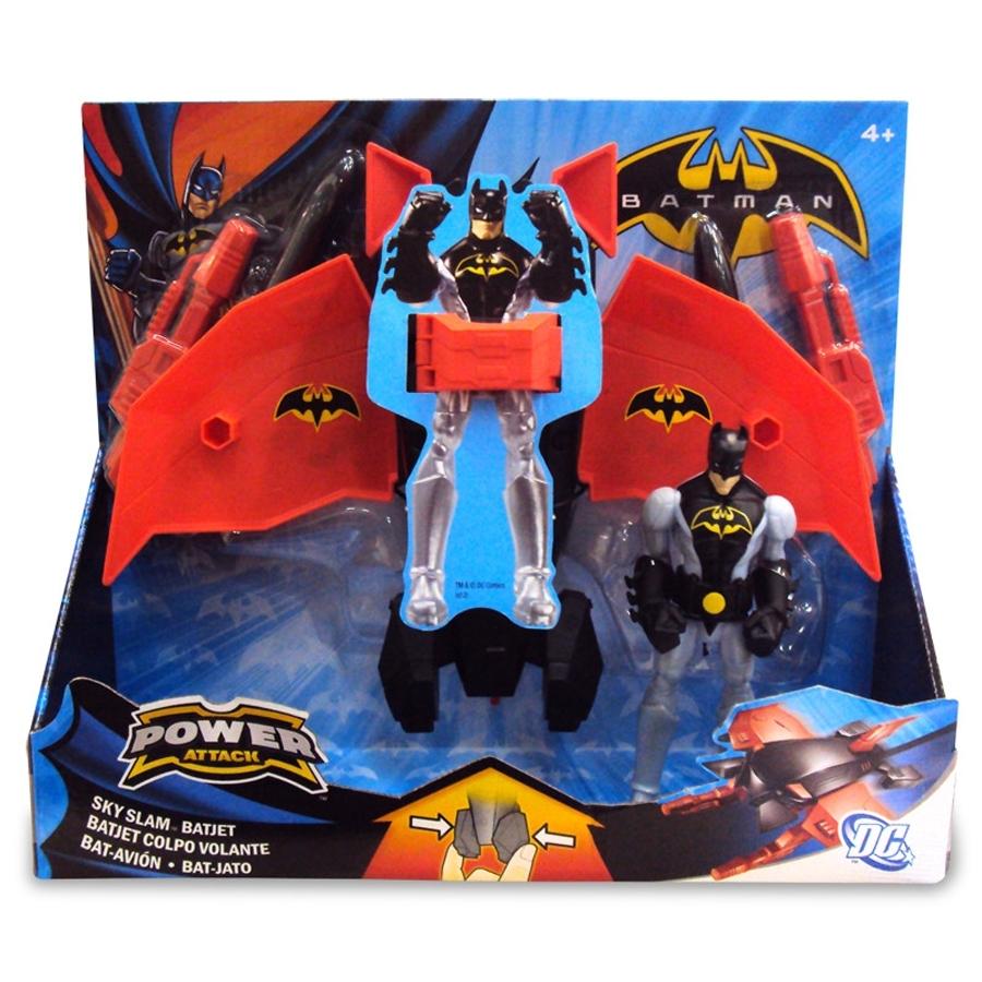 Batman Power Attack Figure & Vehicle Series 01