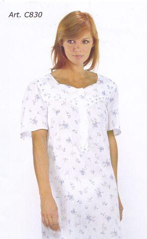 Ночная сорочка батистовая PRIMA ROSA C830 M/M