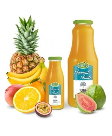 Сок 100% свежевыж. тропические фрукты, 1л.