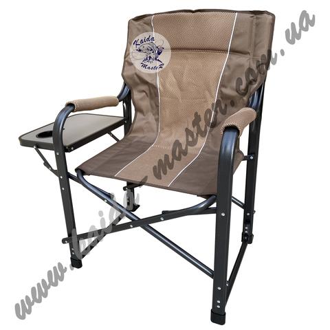Кресло туристическое складное со столиком и подстаканником