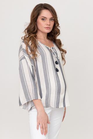 Блузка для беременных 08699 бежевый