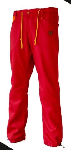 Брюки для скалолазания Hi-Gears The Cliff Pants Summer red (красные)