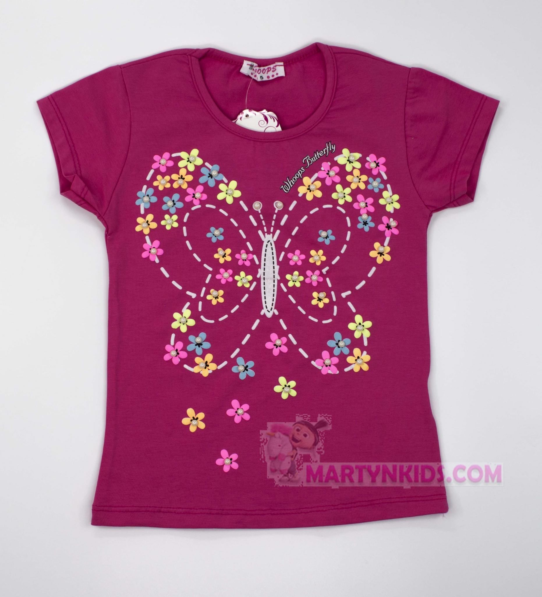 3307  футболка Бабочка