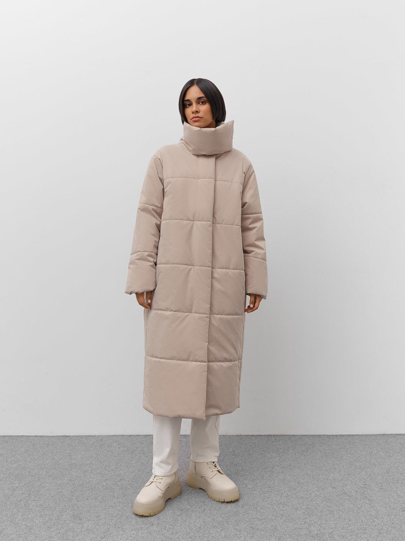 Куртка Стокгольм с асимметричной стойкой