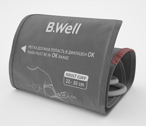Манжета для тонометров B.Well, размер M (22-32 см)
