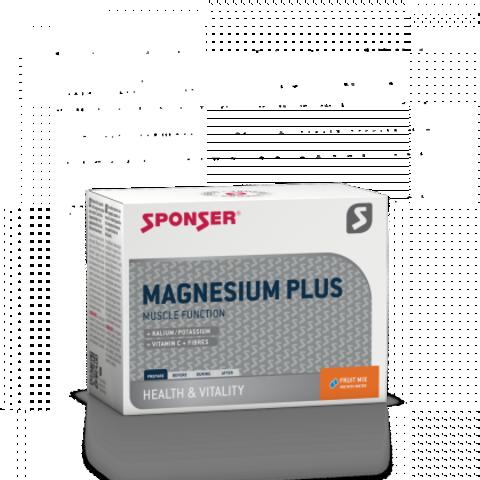 Sponser Magnesium plus Магнезия плюс Фруктовая Смесь, 20*6,5 гр